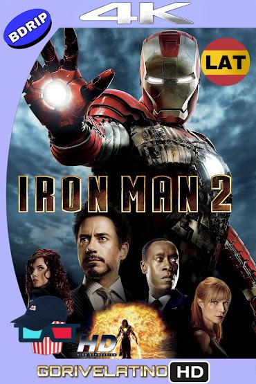 Iron Man 2 (2010) BDRip 4K HDR Latino-Ingles MKV