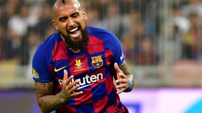 Inter Milan believe they will land Barcelona midfielder Vidal for free