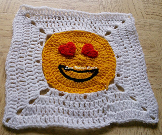 free crochet pattern, free crochet granny square pattern, free crochet blanket pattern, free crochet lovey pattern, free crochet granny square pattern, free crochet emoji pattern, free crochet heart emoji pattern, free crochet hand pattern, free crochet smiley face pattern, Oswal Cashmilon yarn, Pradhan stores,