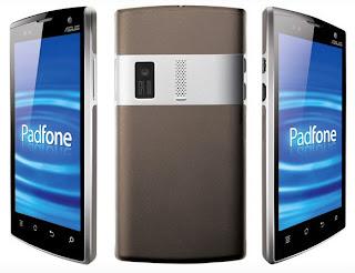 harga Asus PadFone, spesifikasi Asus PadFone, gambar tablet ujnik ada keyboardnya