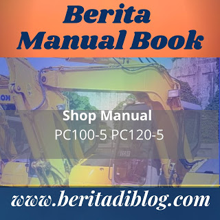 PC100-5 pc120-5 komatsu shop manual