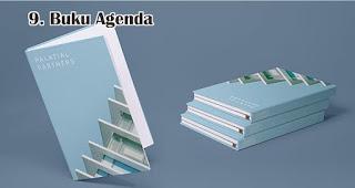 Buku Agenda merupakan salah satu rekomendasi souvenir spesial di hari kartini