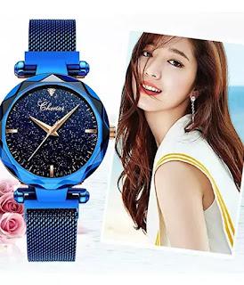 Fashion Women Waterproof Rose Gold Watch