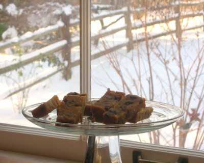 Pumpkin Fruitcake ♥ AVeggieVenture.com, tender spice-rich fruitcake moist with marsala or tawny port.