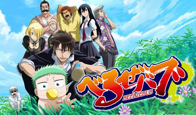 Daftar Anime School Comedy Terbaik dan Terpopuler - Beelzebub