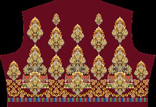 textile digital print designs Bodice
