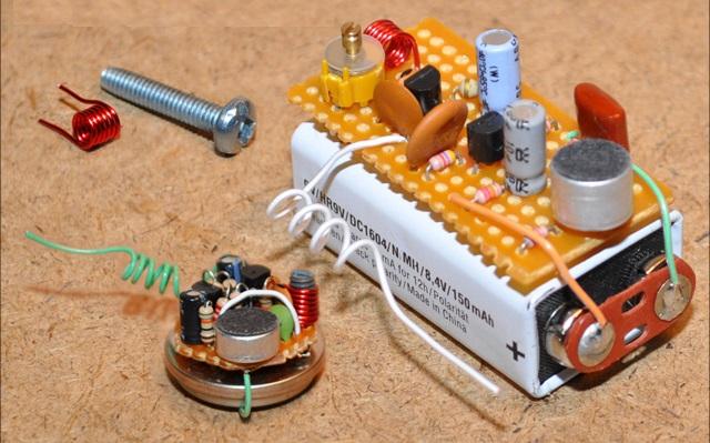 تصميم جهاز ارسال موجات الراديو