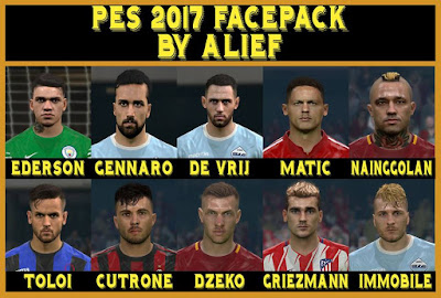 PES 2017 Faces Happy New Year 2018 Facepack by Alief