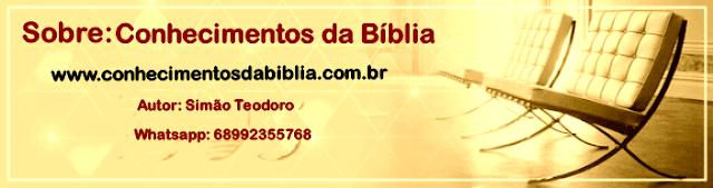 Sobre o Site Conhecimentos da Bíblia