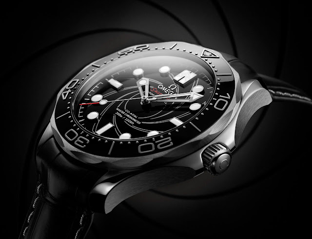Omega Seamaster Diver 300M James Bond Numbered Edition in platinum ref. 210.93.42.20.01.001