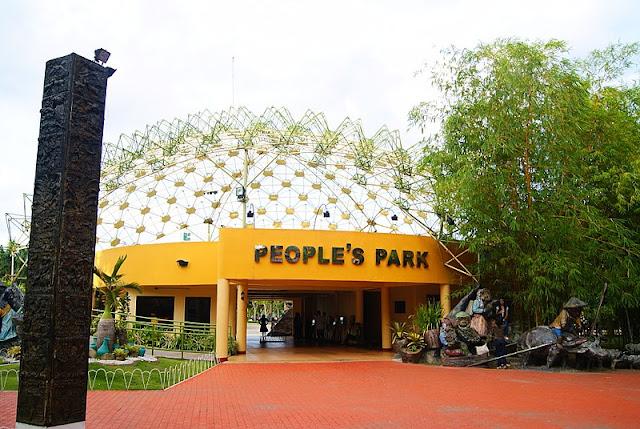 Davao City Destinations; People's Park