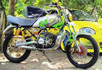 Modifikasi Road Race RX KING Motor