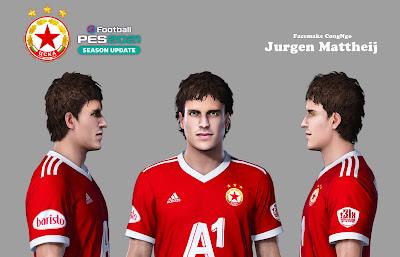 PES 2021 Faces Jurgen Mattheij by CongNgo