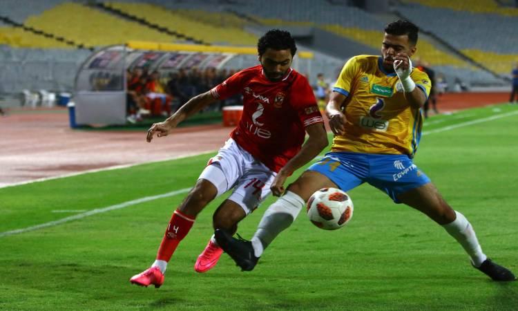 تقرير مباراة الأهلي ضد الإسماعيلي الدوري المصري