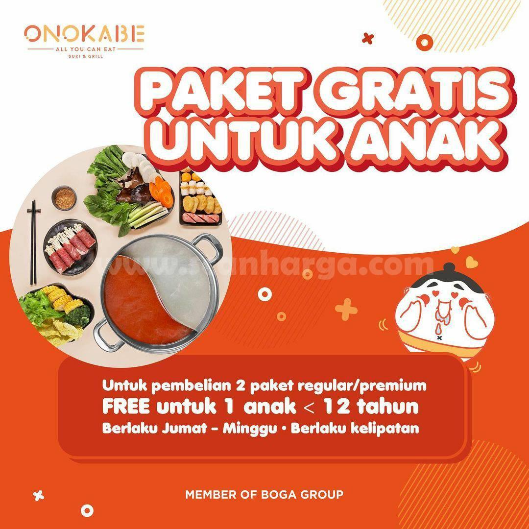 Promo ONOKABE PAKET GRATIS untuk ANAK