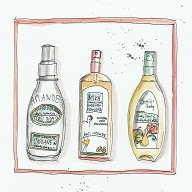 Allergic reactions to hair products