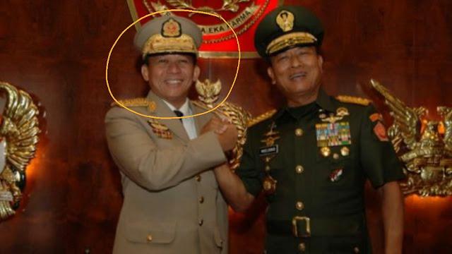 Min Aung Hlaing, Jenderal Myanmar Pengkudeta Aung San Suu Kyi