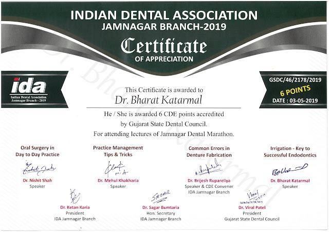 Dental Marathon Irrigation Key to Successful Endodontics by Dr Bharat Katarmal