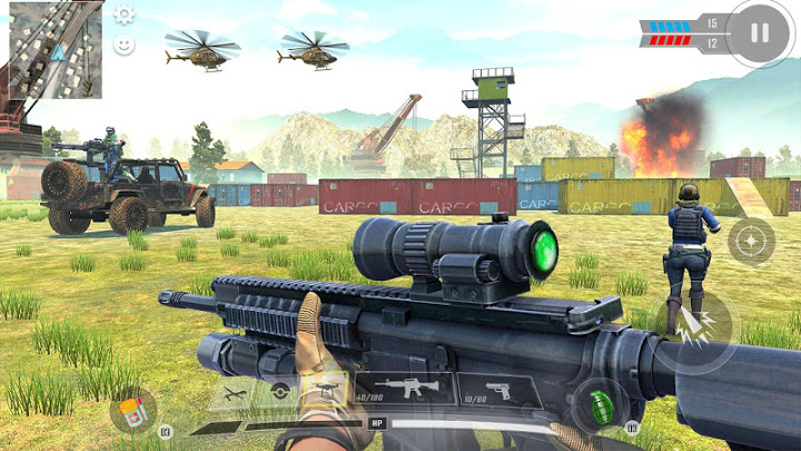 Commando Adventure Assassin: Free Games Offline Mod