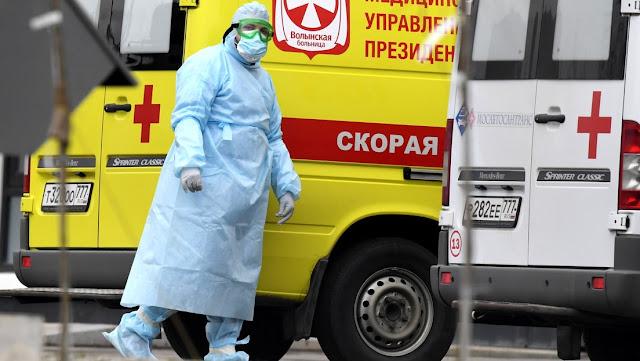 Rusia registra 6.361 nuevos casos de coronavirus y el total roza los 81.000