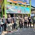Sinergitas Ormas PEKAT IB Kalinyamatan Bersama TNI-Polri Bagikan Masker di Pasar