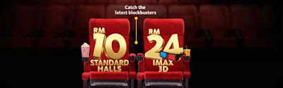 Maybank cards TGV cinemas movie ticket discount promo