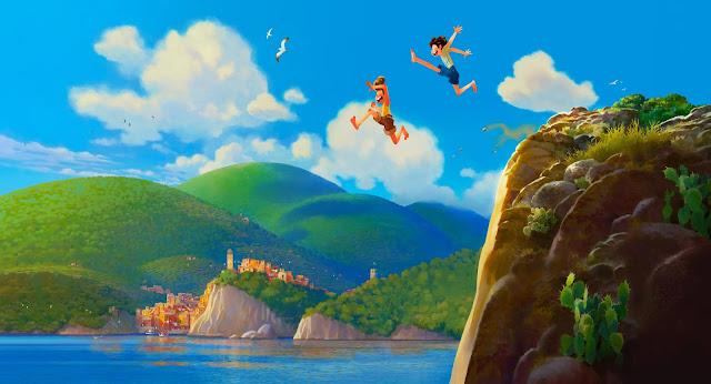 Pixar Luca Concept Artwork by Daniel Lopez Munoz