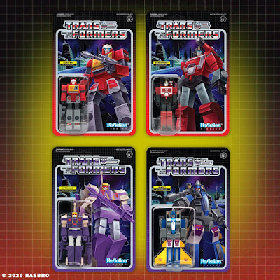 Transformers Generation 1 ReAction Figures Wave 4 by Super7