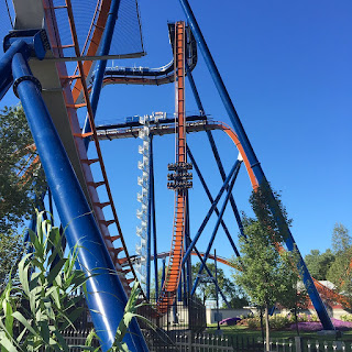 Malfunction of Valravn Dive Coaster at Cedar Point Causes Collision in Station