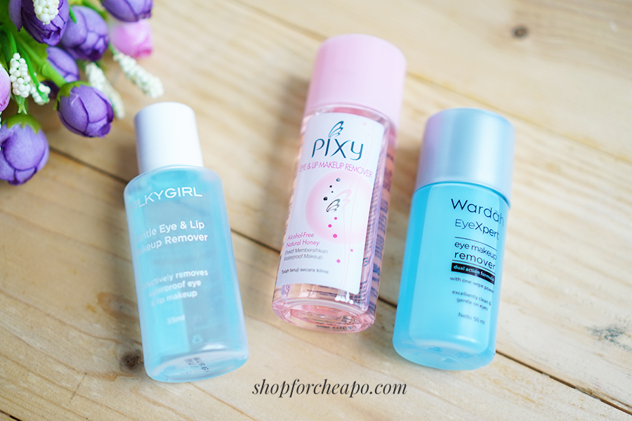 review wardah pixy silkygirl makeup remover