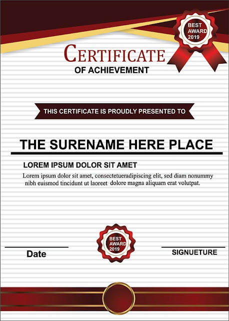 Modern Certificate Design - inqalabgraphic