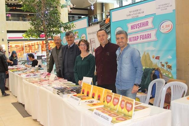 Nevşehir Yazarları Kitap Fuarında