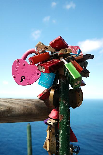 Liebesschlösser am Cap de Formentor