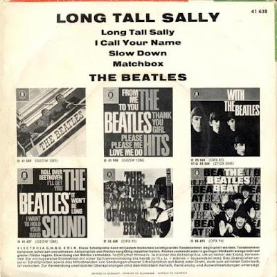 The Beatles Long Tall Sally (EP Aug 1964)