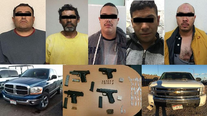 """Cae """"El Tarta"""" líder de La Línea y cinco sicarios más en Chihuahua"""