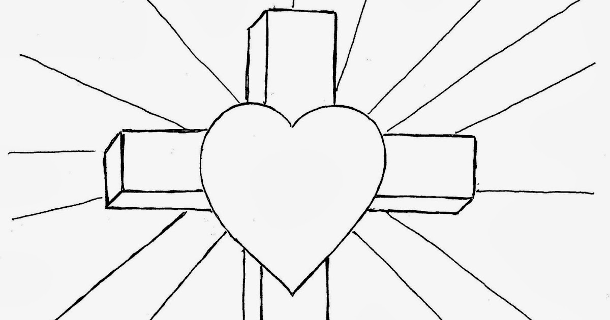 Coloring Pages for Kids by Mr. Adron: Cross Coloring