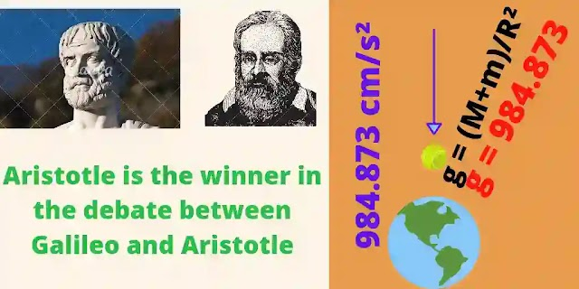 Aristotle Vs. Galileo Galileo