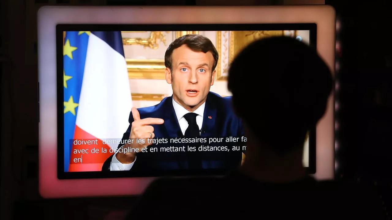 Macron decreta un confinamiento por un mes, para toda Francia
