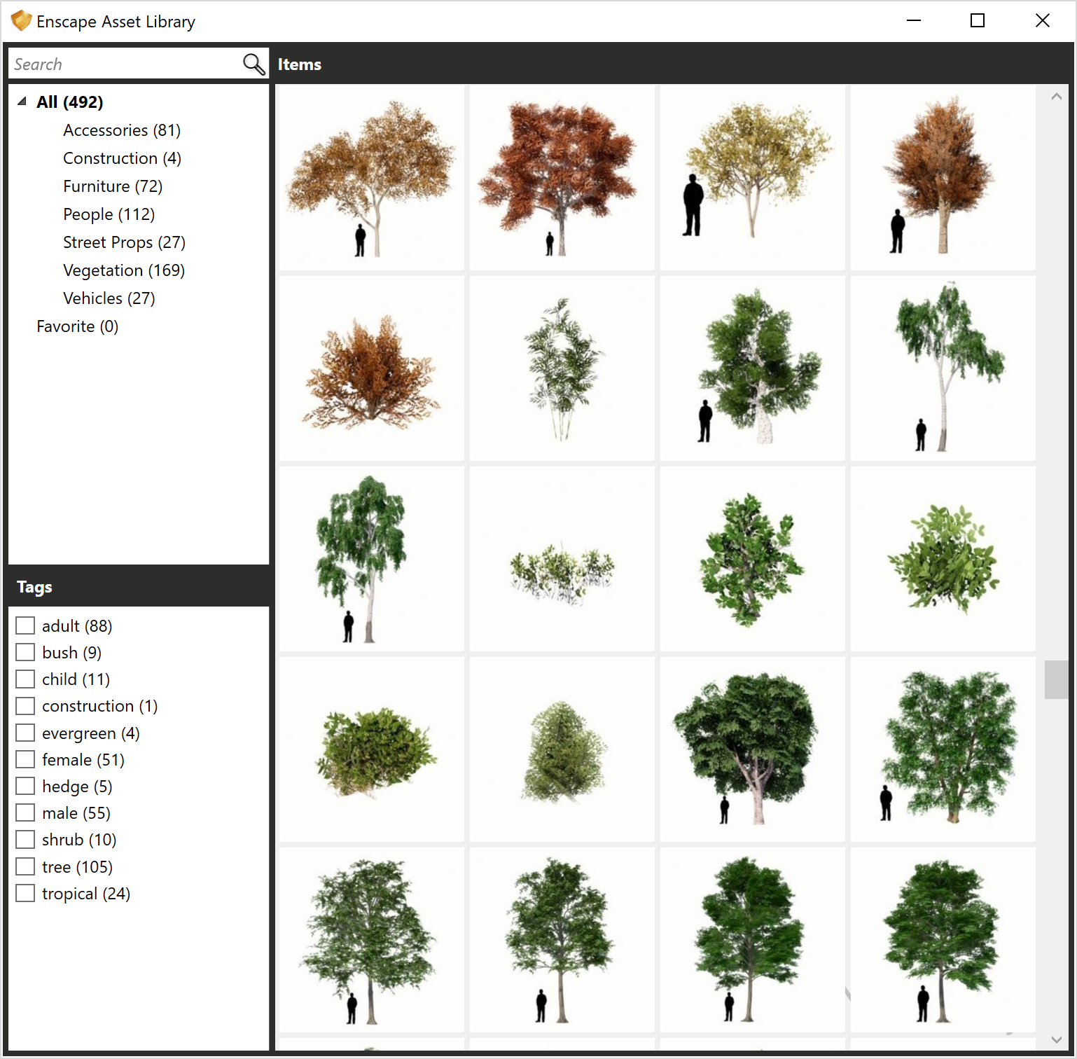 BIM Chapters: Enscape Asset Library Update