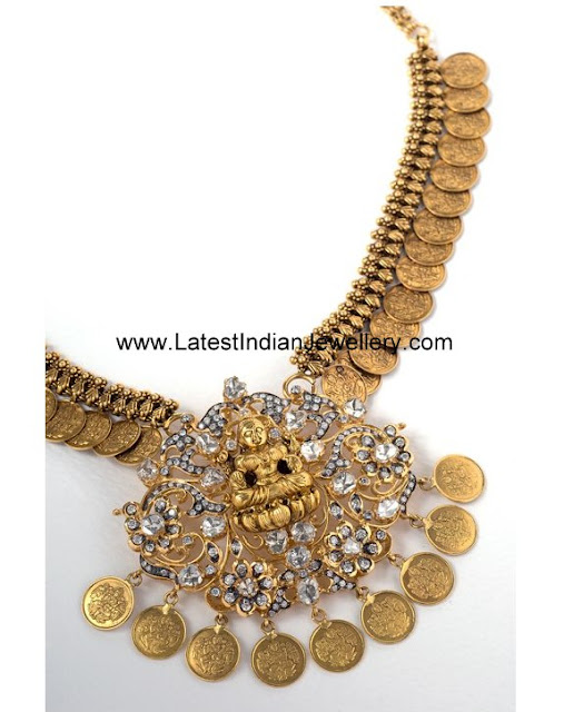 Latest Kasu Mala Necklace