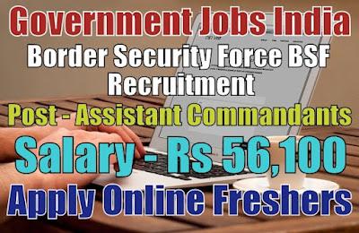 BSF Recruitment 2019