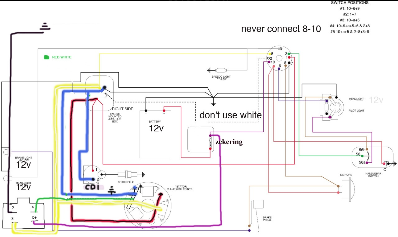 Lambretta Electronic Ignition Wiring Diagram Femsa For Moped Coil Odicis