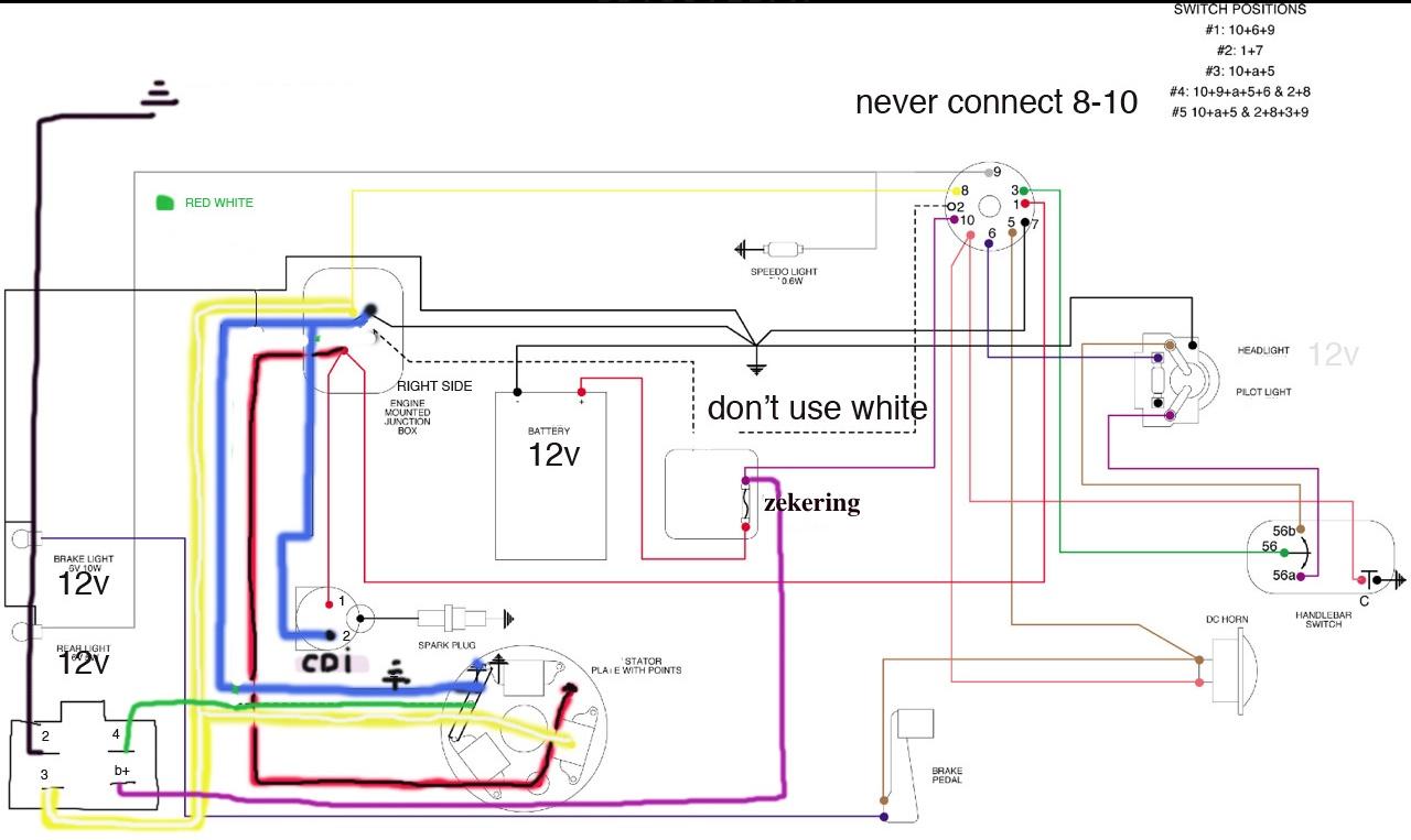Lambretta Wiring Diagram 12v For Moped Coil Odicis