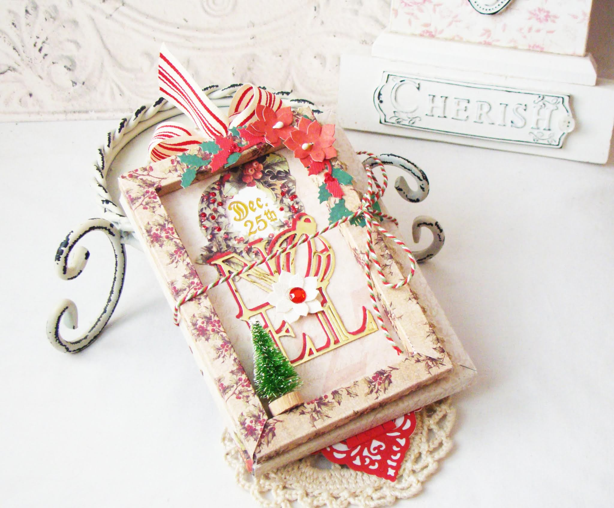 iralamija: Introducing Amazing Paper Grace Christmas Cascade