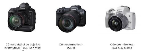 Canon celebra 18º ano consecutivo no topo do mercado global de câmaras digitais de objetivas intermutáveis