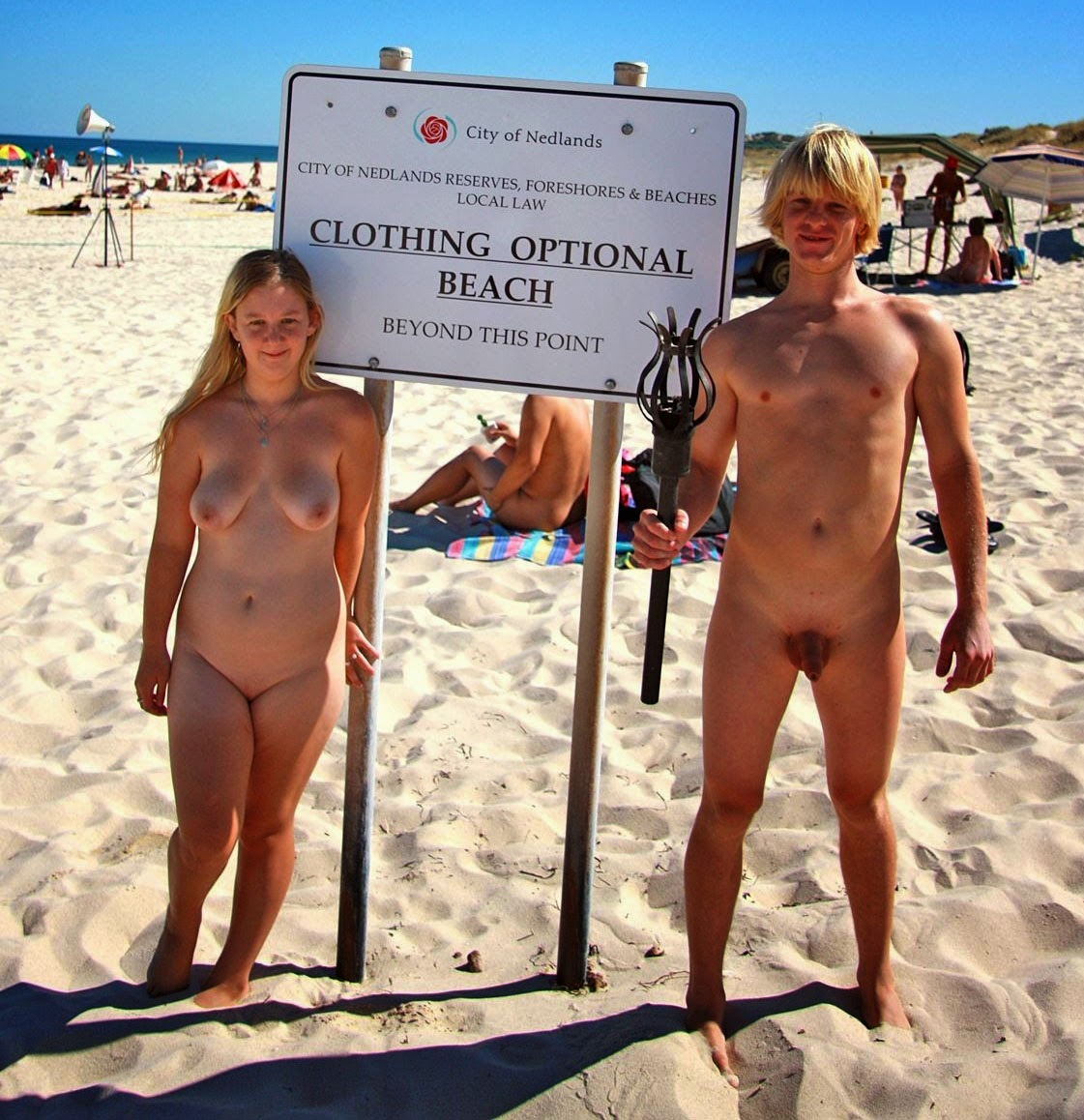 Nude beach australia