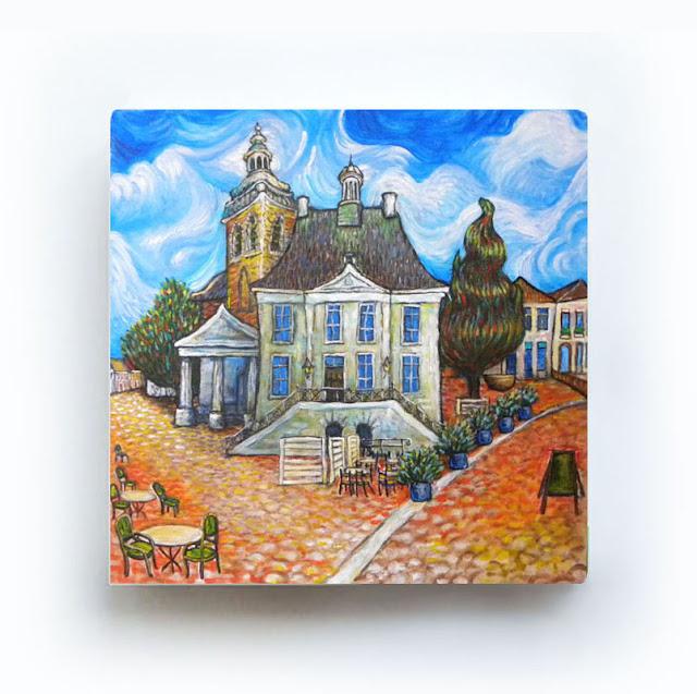 Raadhuis Roosendaal Like Van Gogh