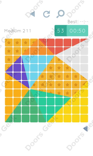Cheats, Walkthrough for Blocks and Shapes Medium Level 211