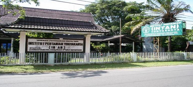 PENERIMAAN MAHASISWA BARU (INTAN) INSTITUT PERTANIAN YOGYAKARTA