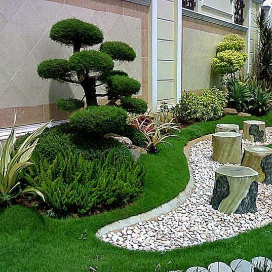 rumput sintetis taman